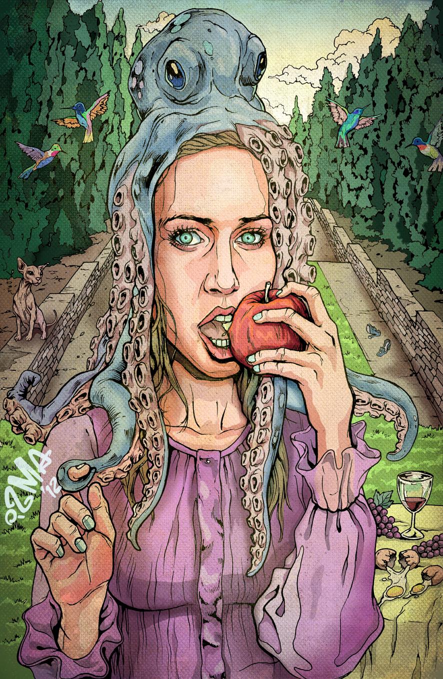 Fiona Apple by ismaComics