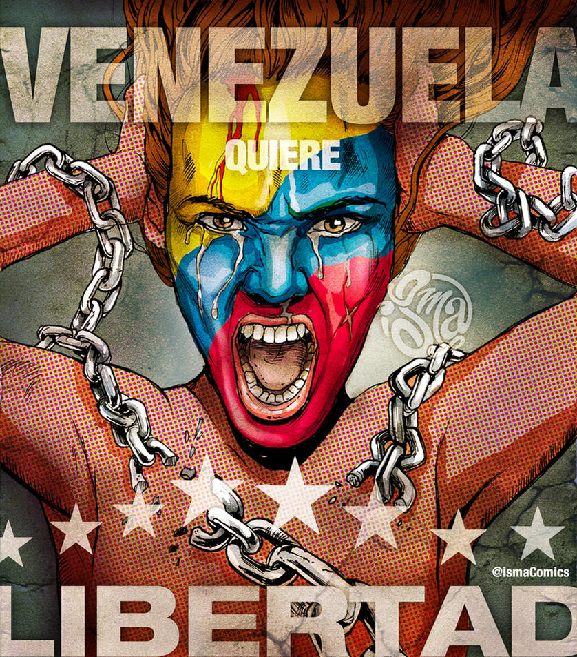 Venezuela wants Freedom by ismaComics
