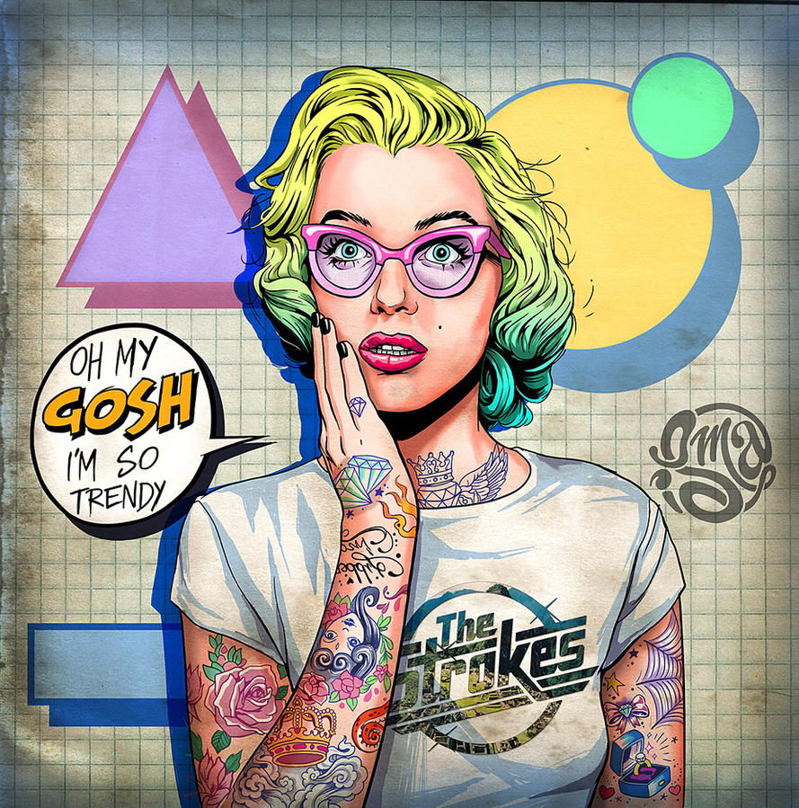 Oh my gosh, i'm so trendy! by ismaComics