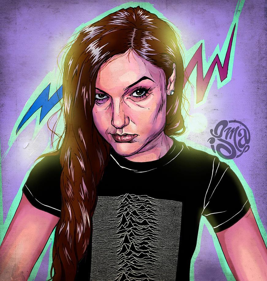 Sasha Grey by ismaComics