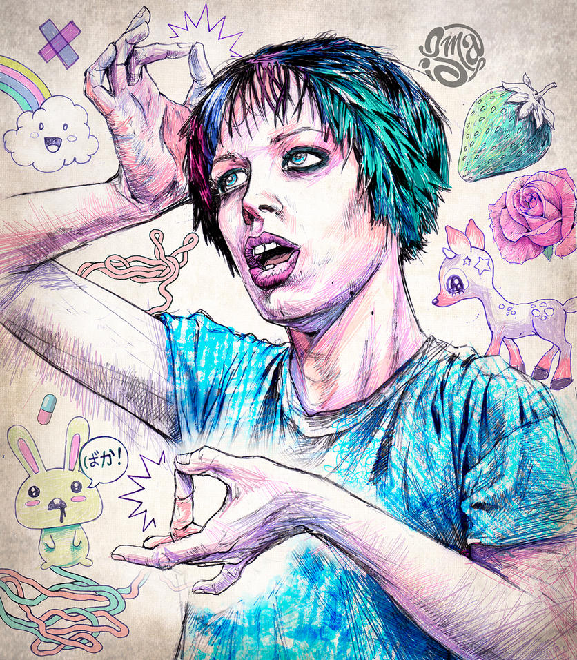 Alice Glass by ismaComics