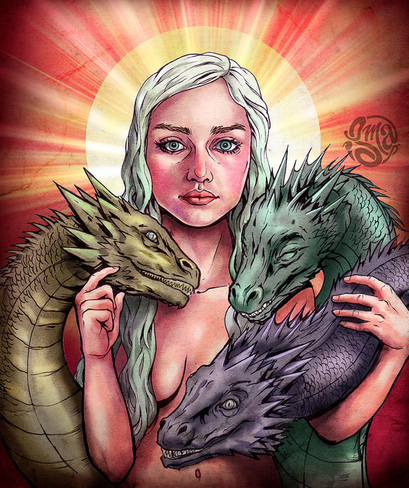 Mother of Dragons by ismaComics
