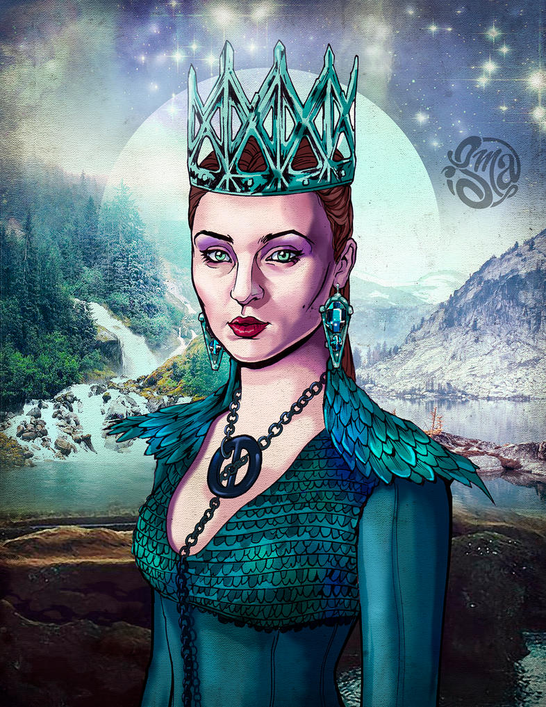 Queen of the North by ismaComics