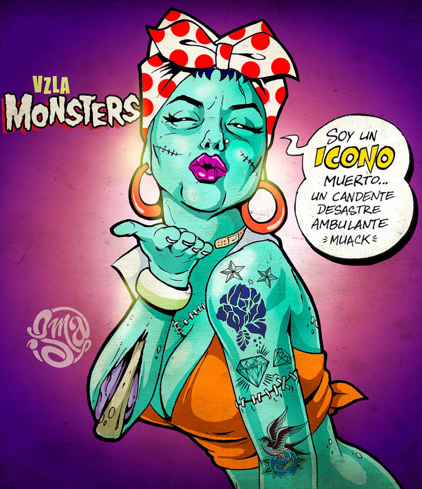Yoli Perez - Vzla Monsters by ismaComics