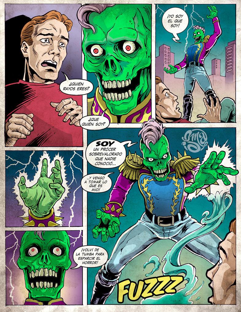 Vzla Monsters - El Procer by ismaComics