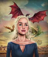 Daenerys Stormborn by ismaComics