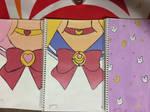 Sailormoon inspired notebooks ^^