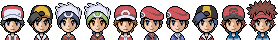Free Pokemon characters icons in XY style by Bucket-Boy