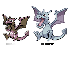 Gold Aerodactyl Revamp by Bucket-Boy