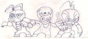 The Three Mascaritas
