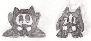 Ninji Kirby and Starsims Ninji