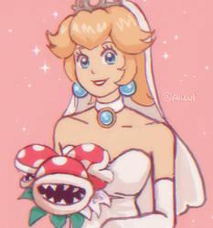 Peach Bride by sakurakiss777