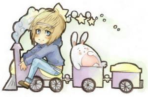 Riding Trains, Riding Trains by dorodoro