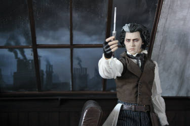 Sweeney Todd - 1/6 Scale Diorama (2 of 2) by StesylaDios