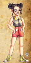 Mickey Girl by manzanaperdida