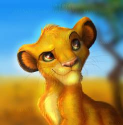 Simba by KhaliaArt