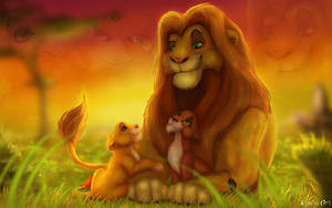 Ahadi with sons