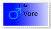 Male Vore stamp by Yoshi1337