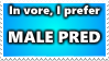 Male Pred Stamp by Yoshi1337