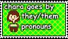 Chara stamp by Yoshi1337