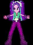 Aria Blaze Standing Vector