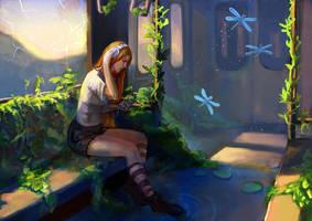 Garden of music by Nieris