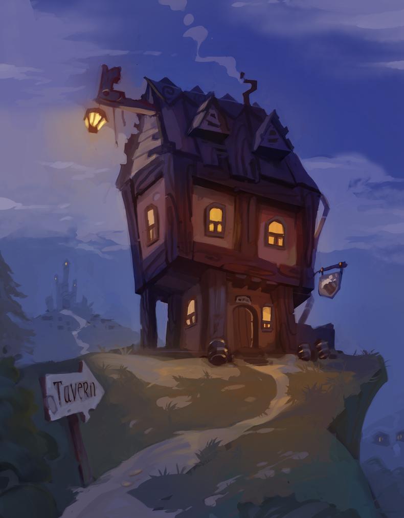 Tavern by Nieris
