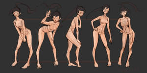 Basic poses (Bent down)