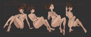 Basic poses(Sit )