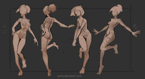 Basic poses(Theme-Leg up)