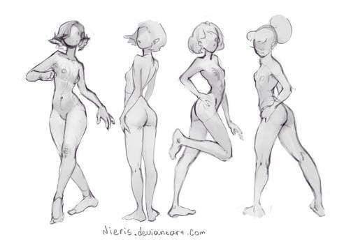 Basic poses(Curve)