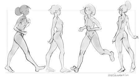 Theme-Basic poses(Walk) by Nieris