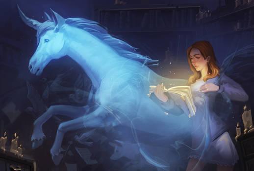Magic book(commission)