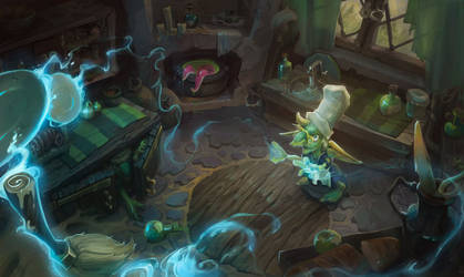 Magic kitchen by Nieris