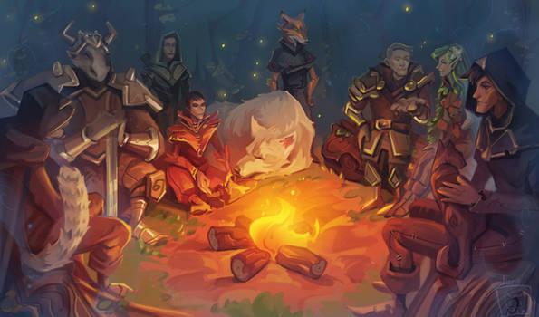 Fire tales