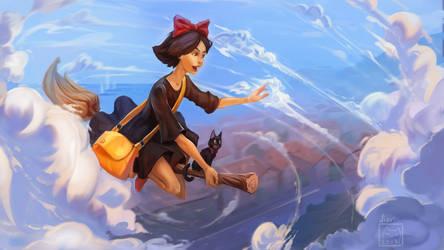 Kiki's delivery service by Nieris