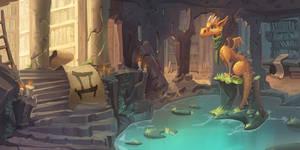 LIttle dragon by Nieris