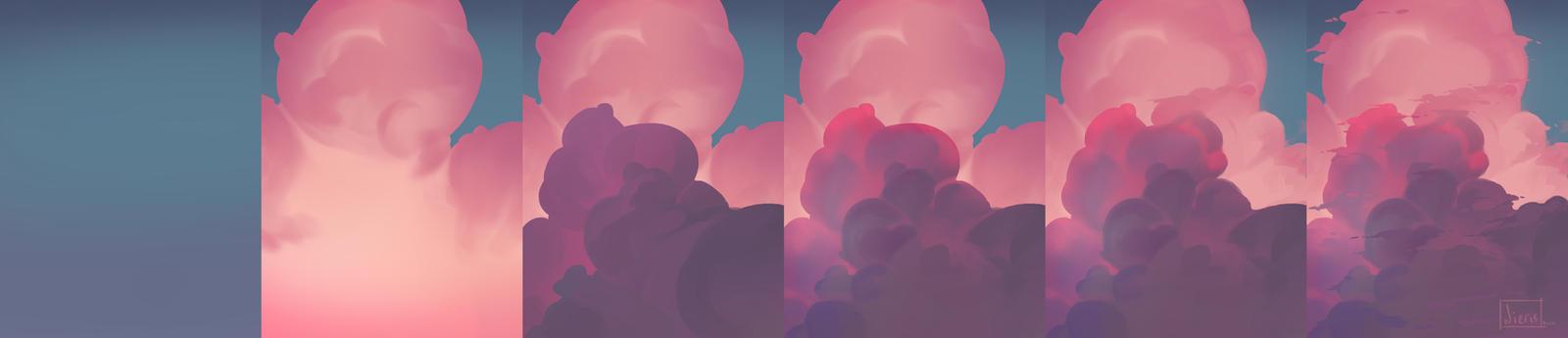 Clouds-steps by Nieris
