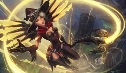 My servants never die! (Mercy witch)