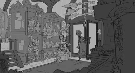 Fantasy things (work in progress) by Nieris