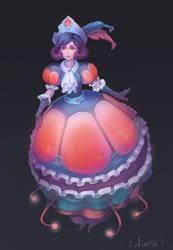 Lady Jellyfish by Nieris