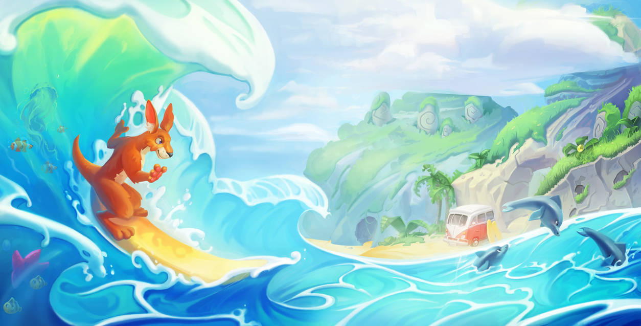 Surfing time by Nieris