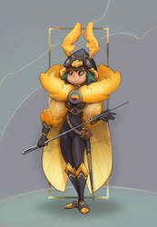 Insect warrior by Nieris