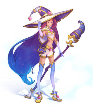 Witch of stars