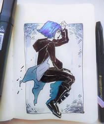 Rainy Raven by Nieris
