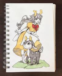 Deer by Nieris