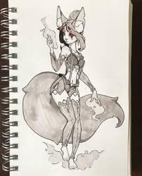 Kitsune by Nieris