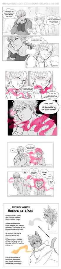 (OC comic) catboy powers