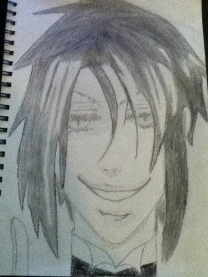 Black Butler: Sebastian by Animepandaneco