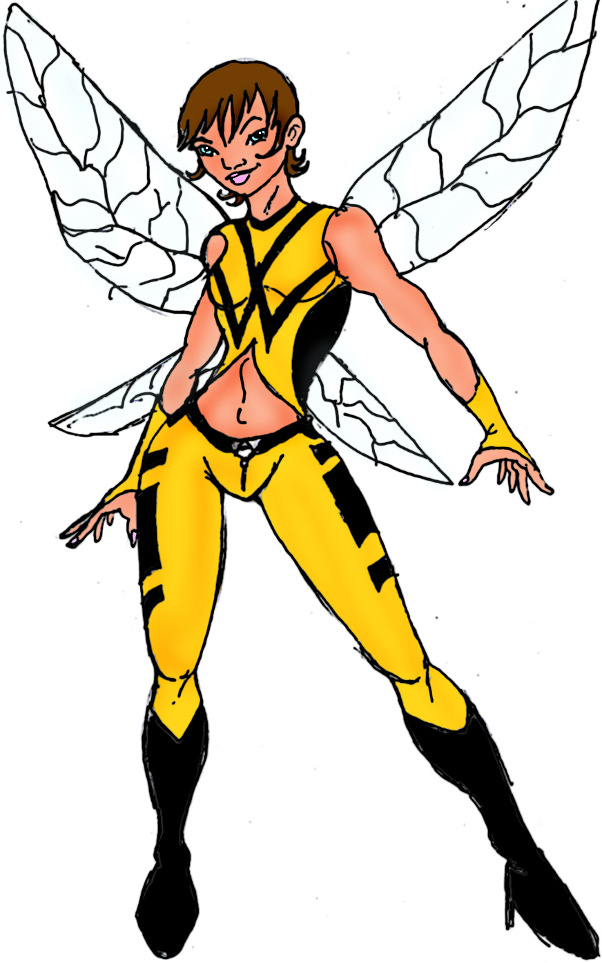 Wasp Redesign Yellow by TreStyles